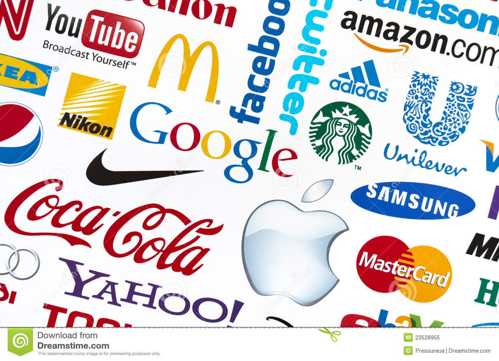 Logotypes do tipo do mundo