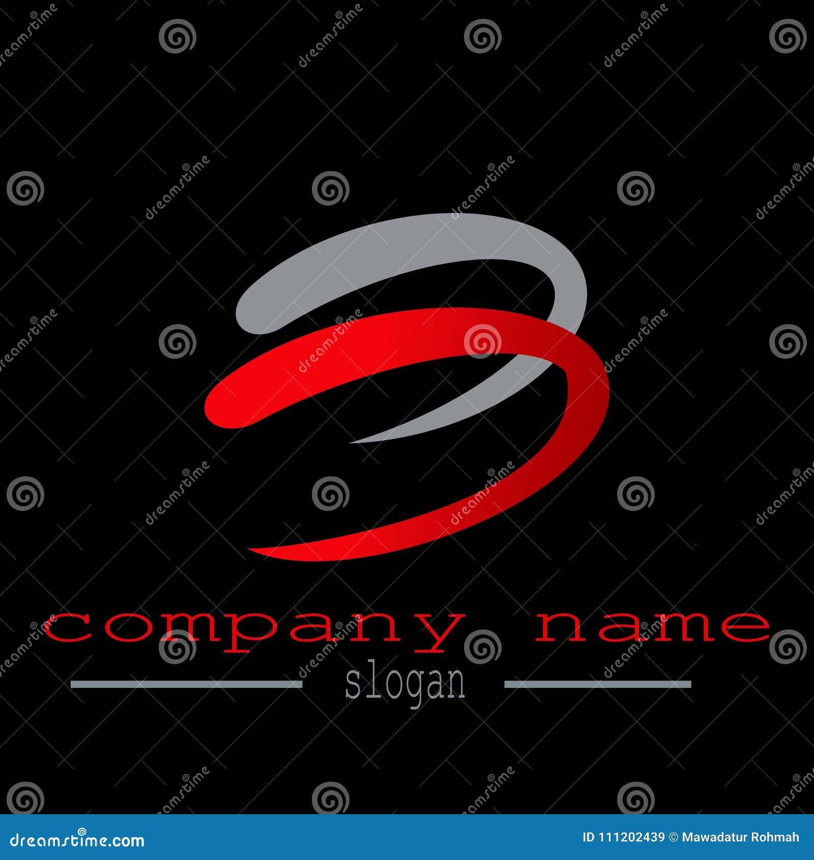 Logovektor des Buchstaben b