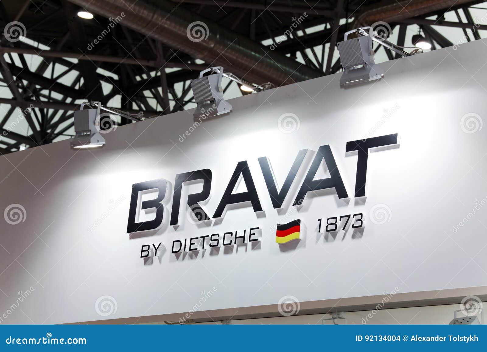 Logozeichen Von Bravat-Firma Bravat Ist Ein Deutscher Hersteller Von ...