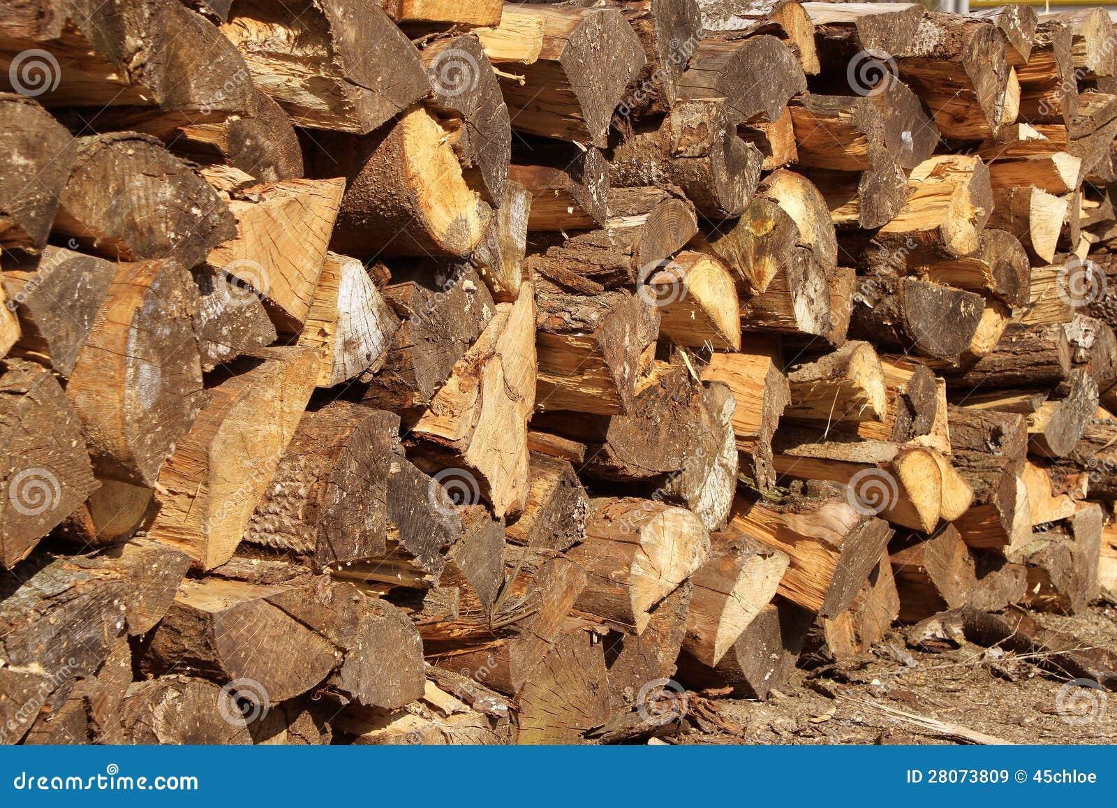 Logs en bois