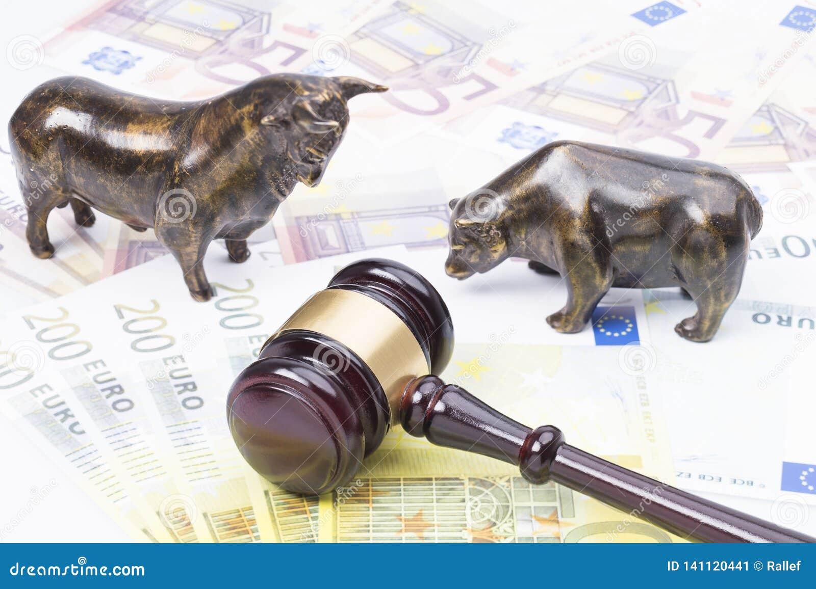 Loi de marché boursier