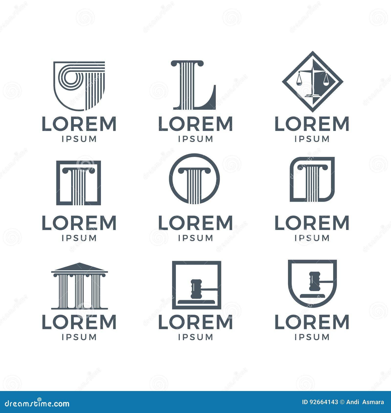 Loi Logo Set