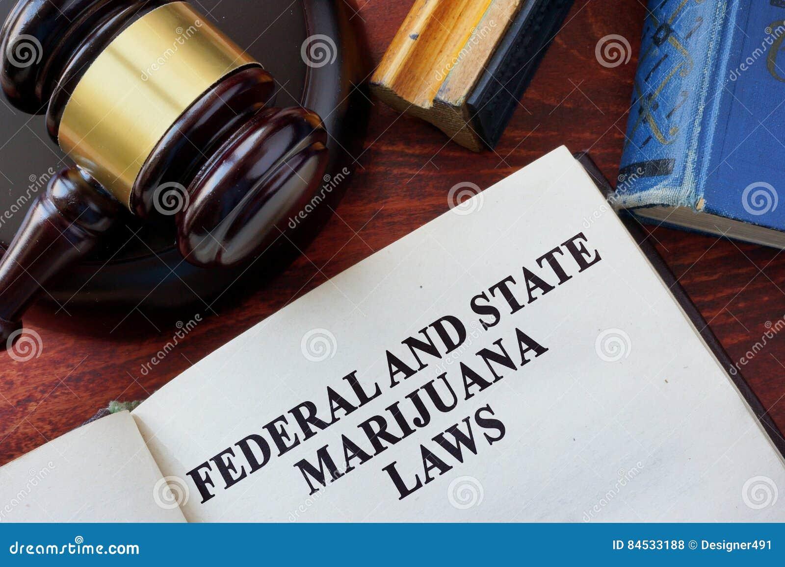 Lois fédérales et d état de marijuana