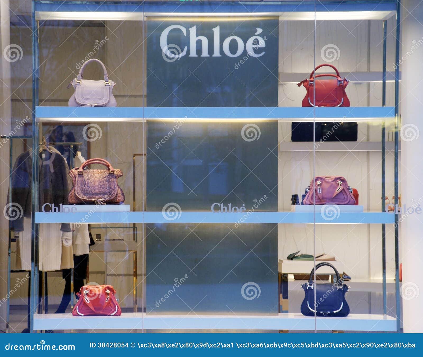 ca01bbdc638f1 Loja Da Forma De Chloe Em China Imagem de Stock Editorial - Imagem ...