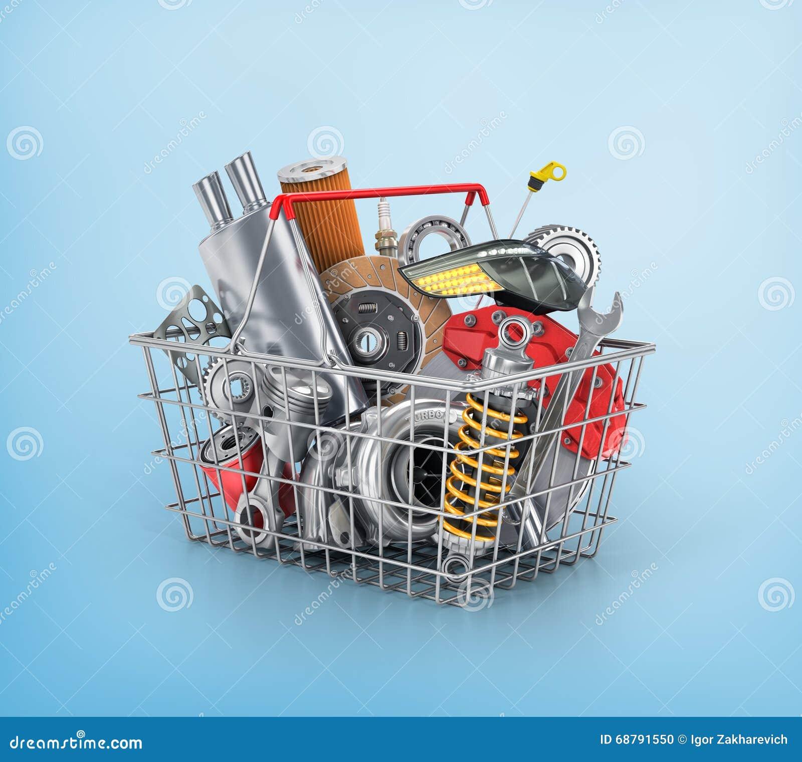Loja das peças de automóvel