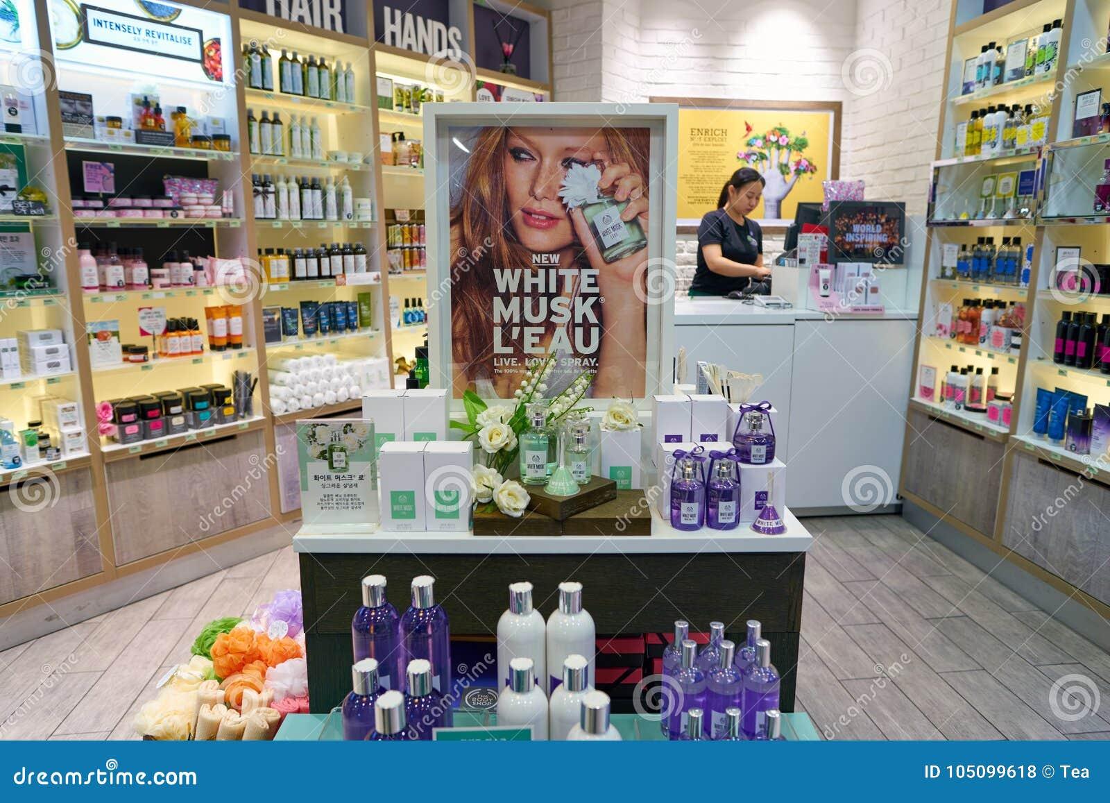 577ab678f A loja de Body Shop foto de stock editorial. Imagem de loja - 105099618