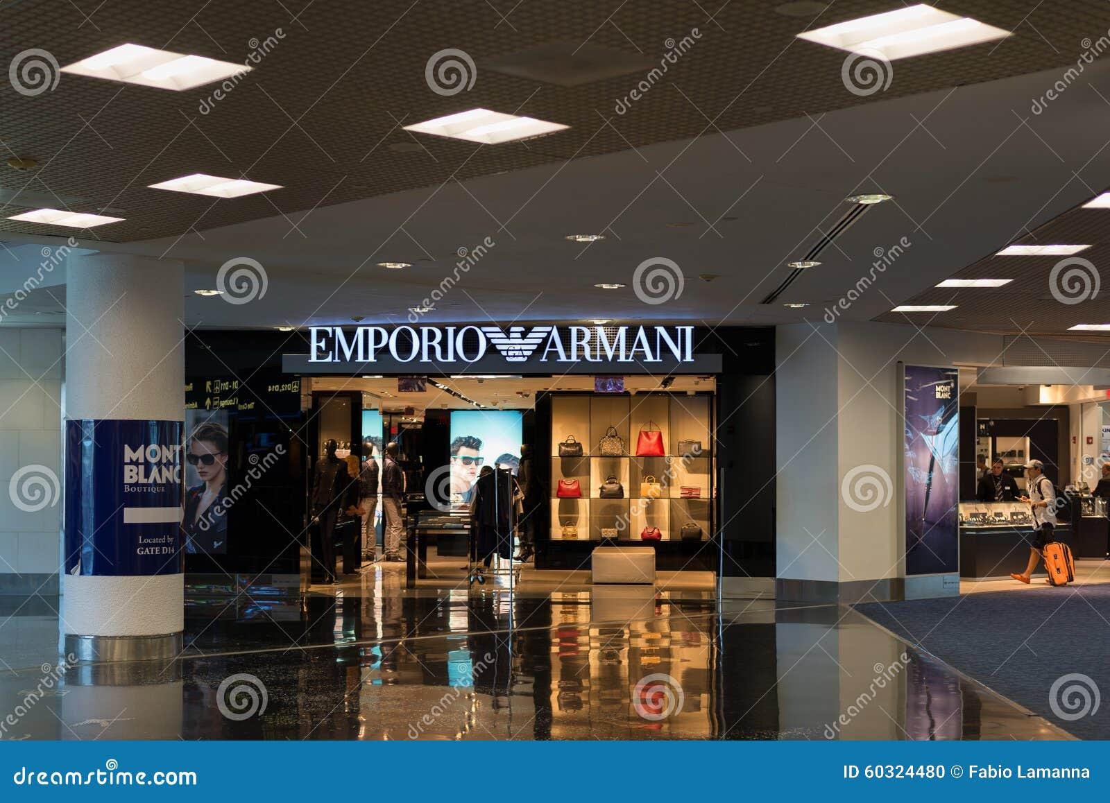 73d99d37dd787 Loja De Emporio Armani No Aeroporto Internacional De Miami Imagem ...