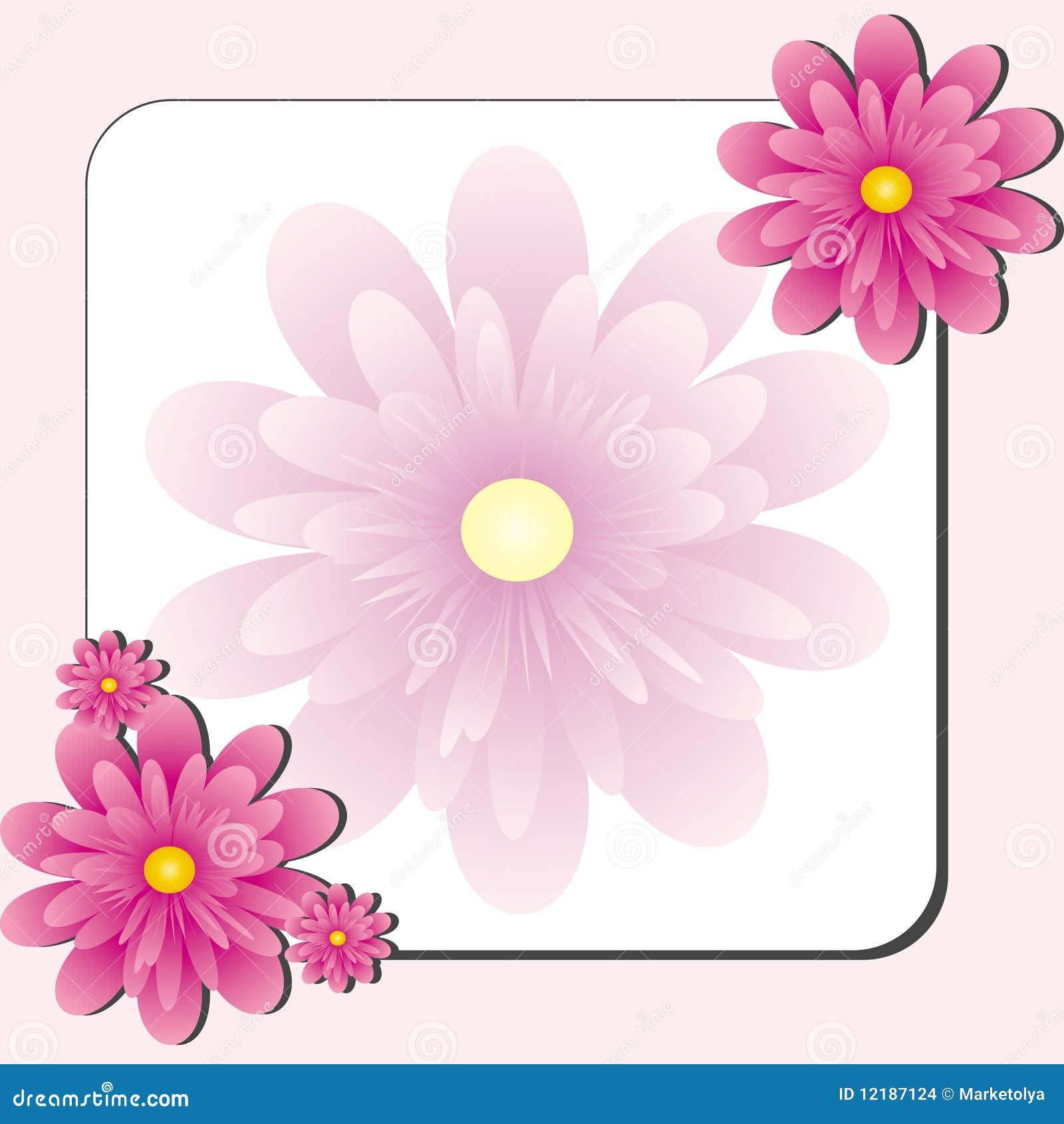 f6ba09083 Loja de flor cor-de-rosa ilustração do vetor. Ilustração de arte ...