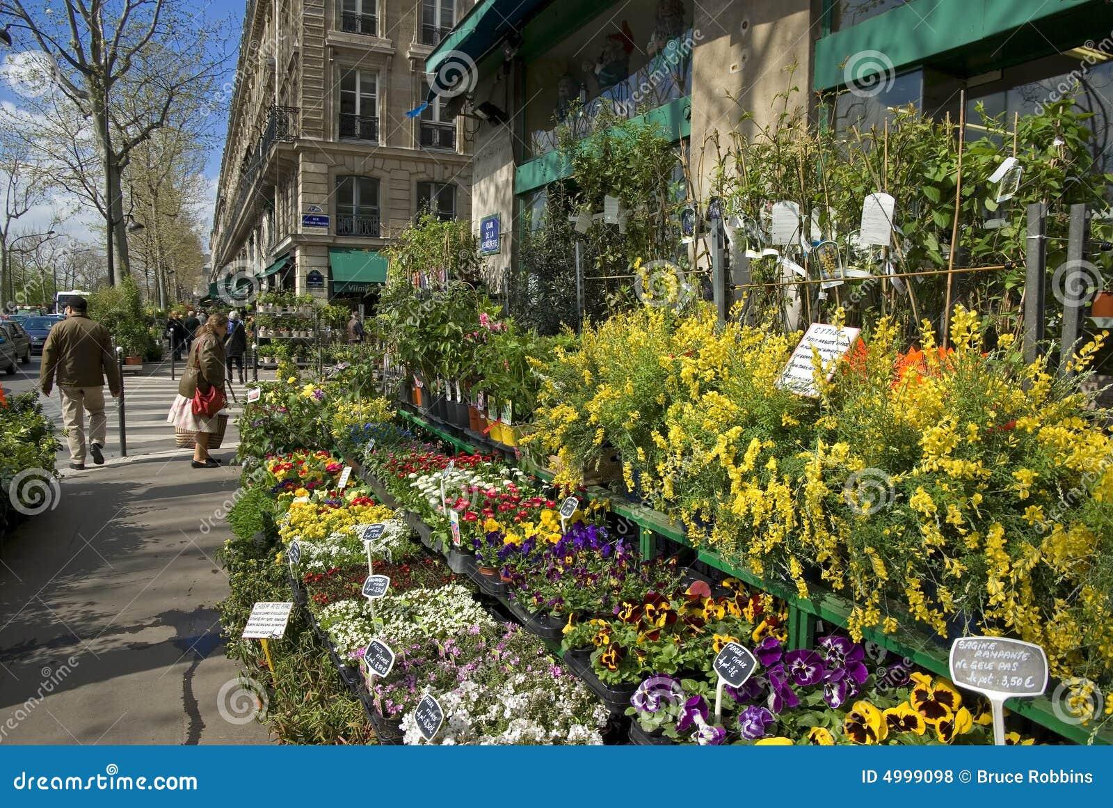 loja de florista paris france foto de stock imagem de para loja 4999098. Black Bedroom Furniture Sets. Home Design Ideas