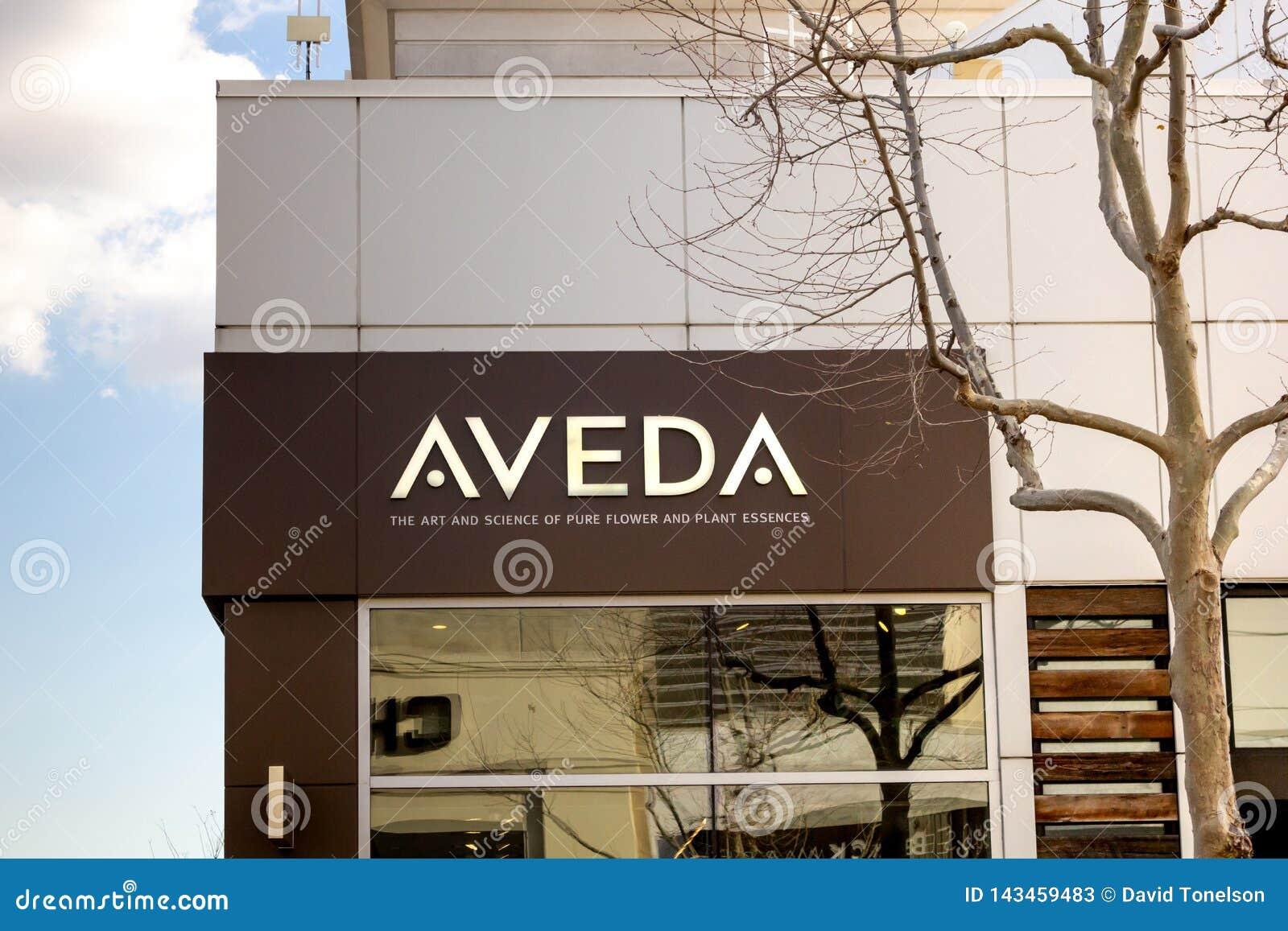 Loja do skincare de Aveda