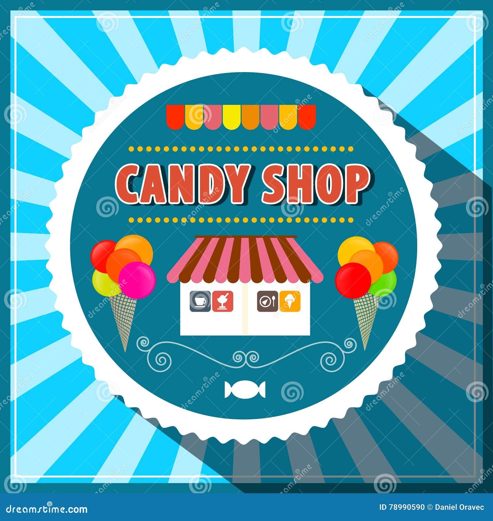 A loja dos doces