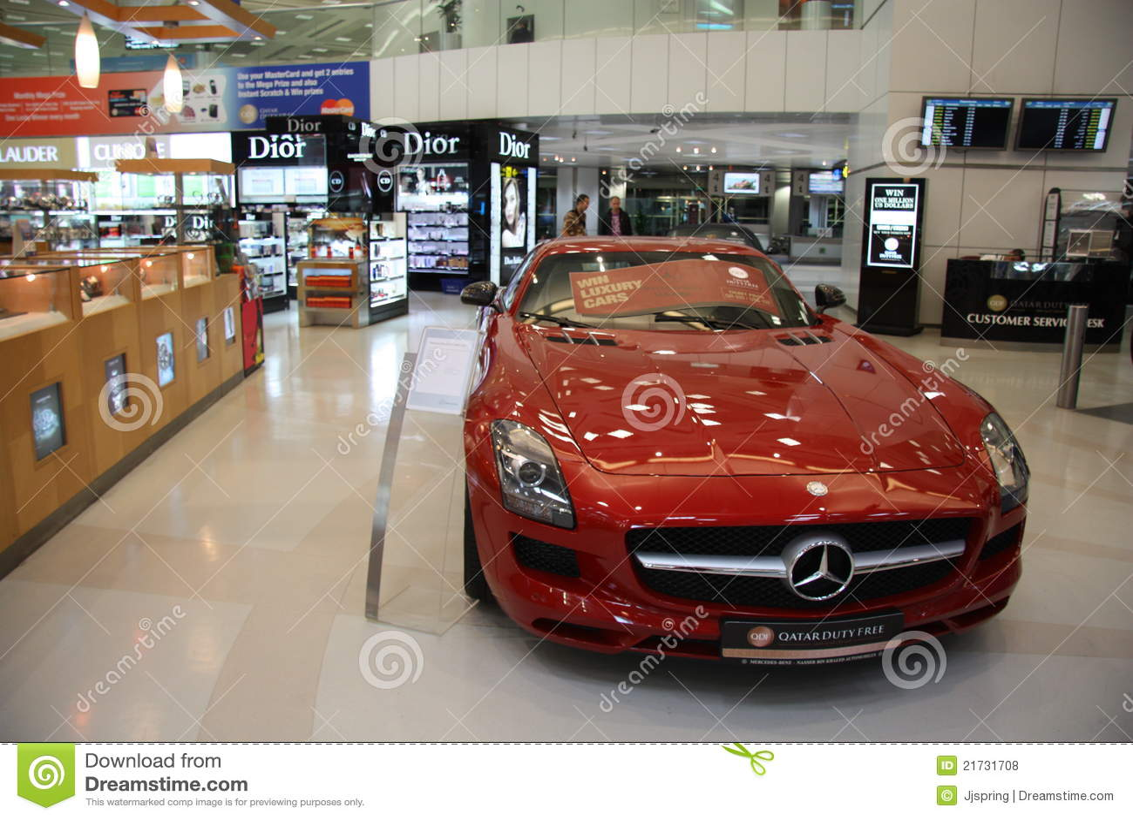 Aeroporto Qatar : Loja isenta de direitos aduaneiros no aeroporto doha