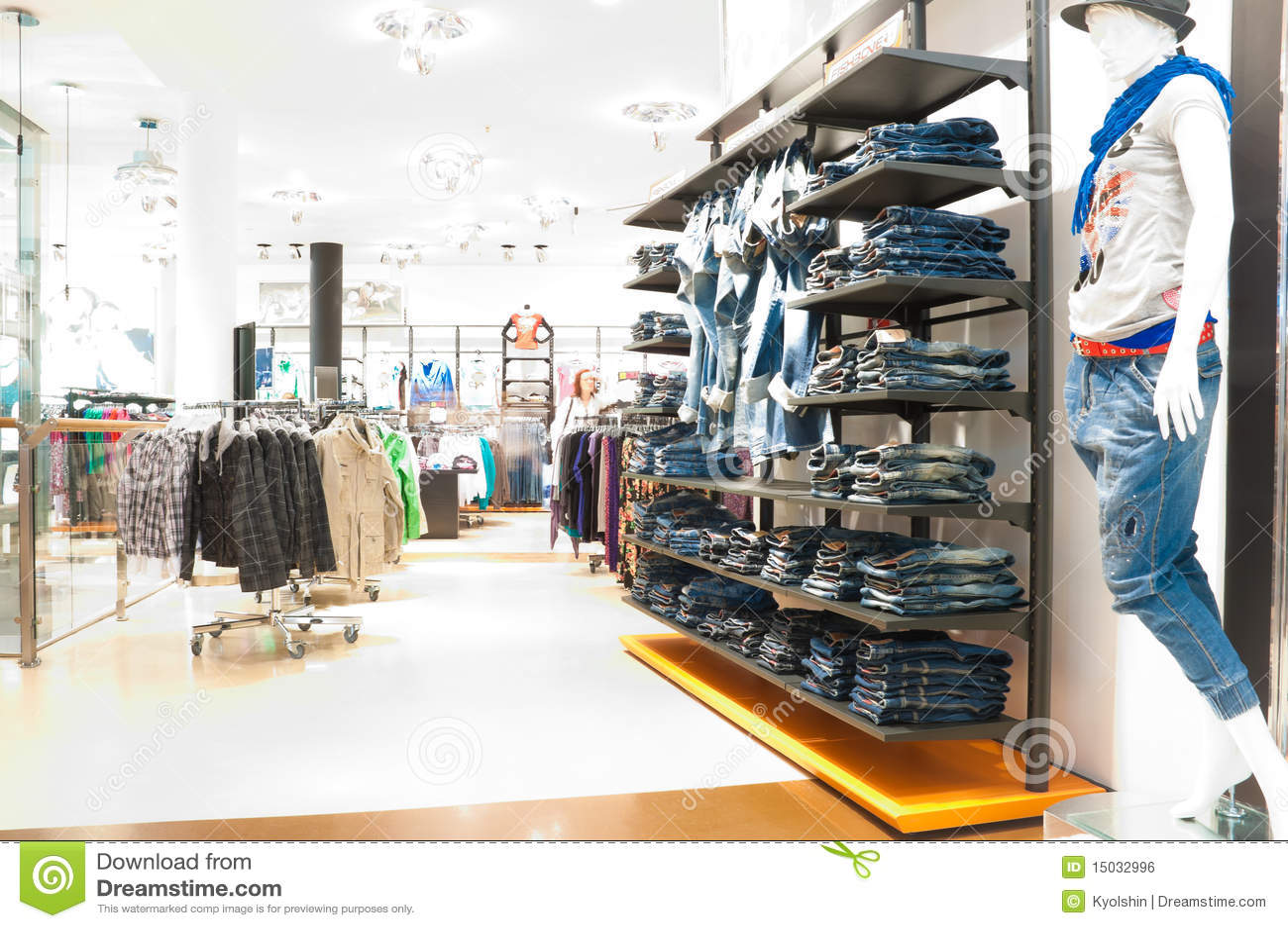 Da spot clothing store