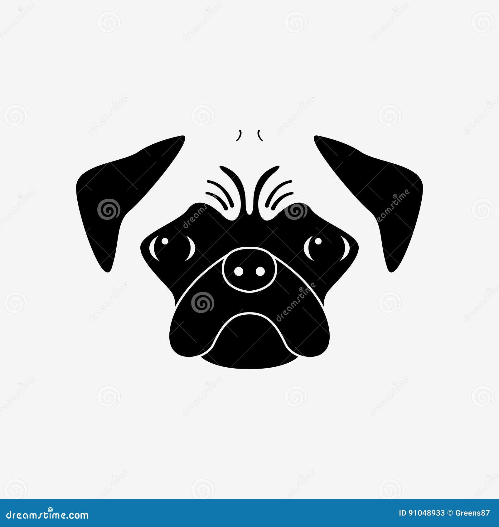 Lojalny przyjaciel Purebred psi portret