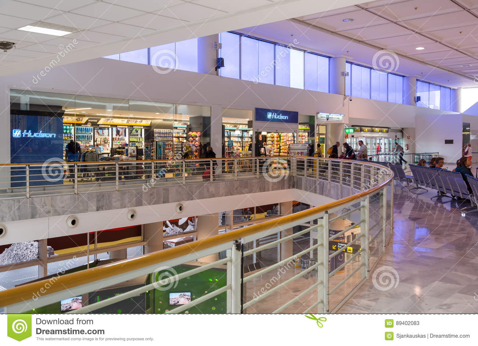 Lojas isentas de direitos aduaneiros do aeroporto de Arrecife