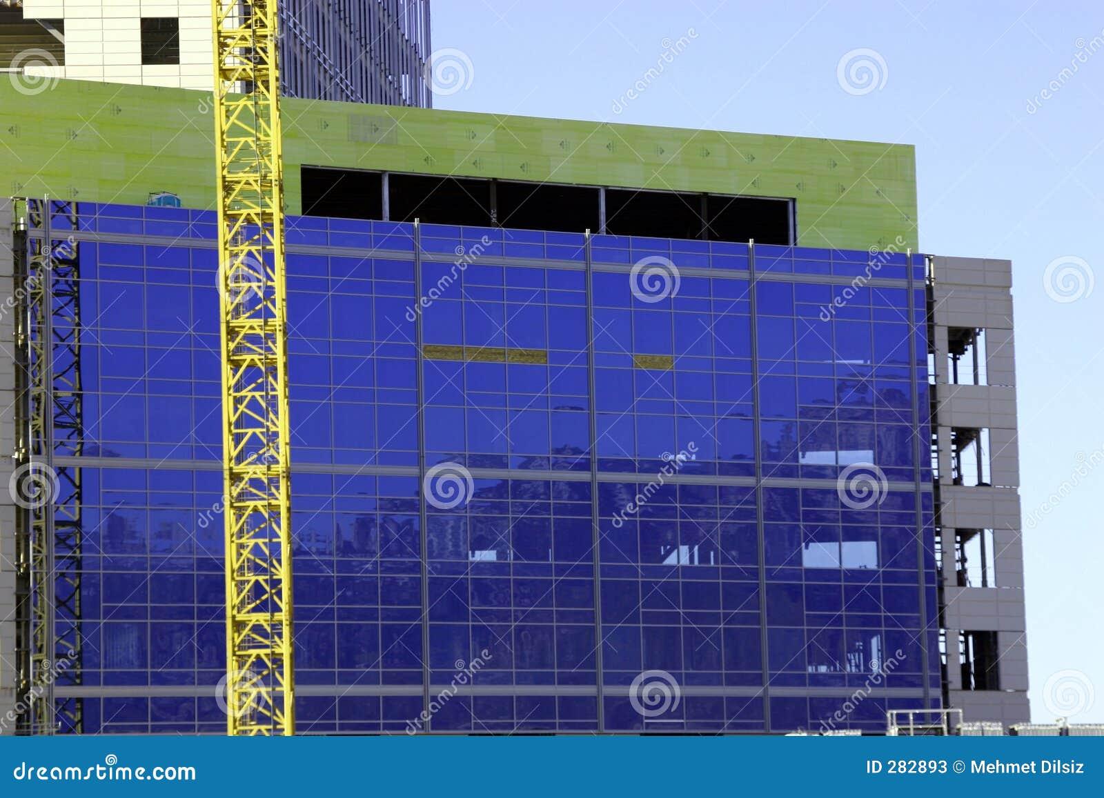 Lokal för kran för byggnadskonstruktion