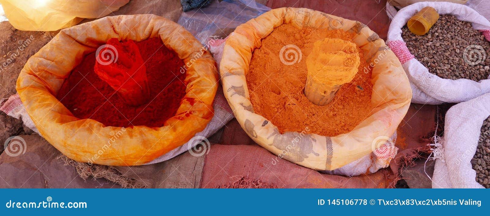 Lokale korrels voor verkoop in Lalibela
