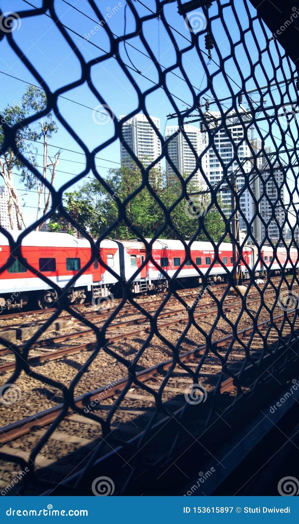 Lokale trein in Mumbai