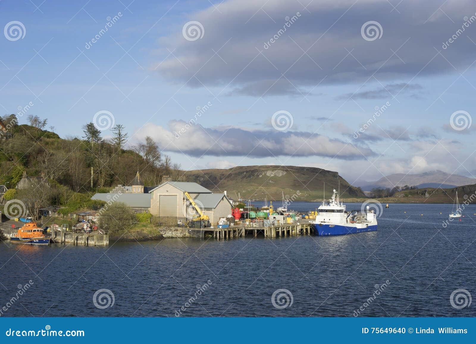 Lokales Jachthafendock