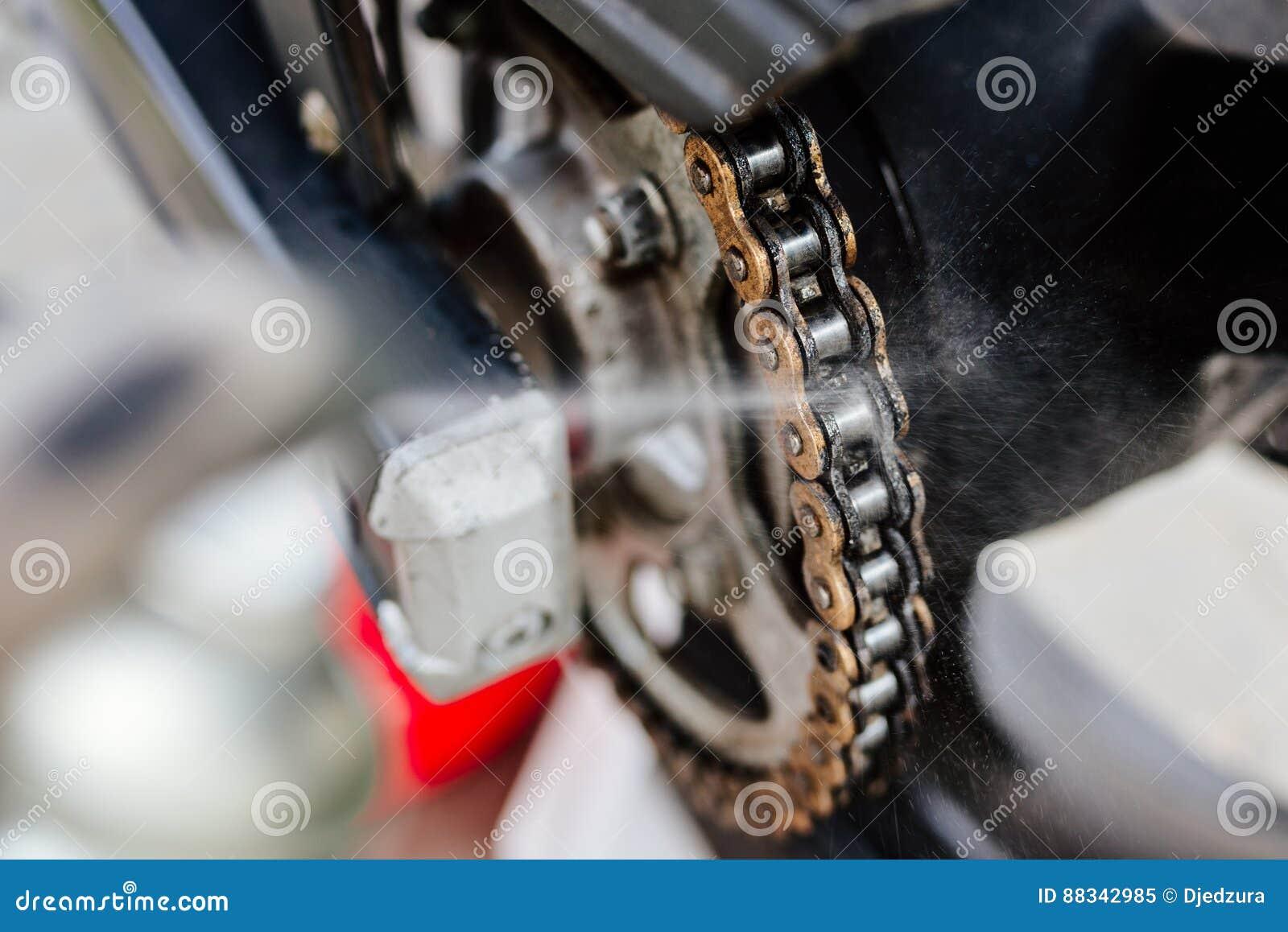 Lokalvårdmotorcykelkedja