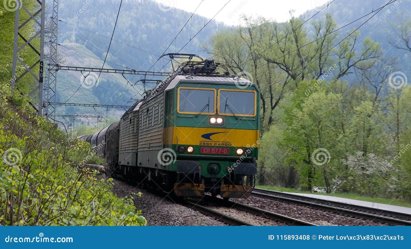 Lokomotiv med DC-strömförsörjning för 3000 V