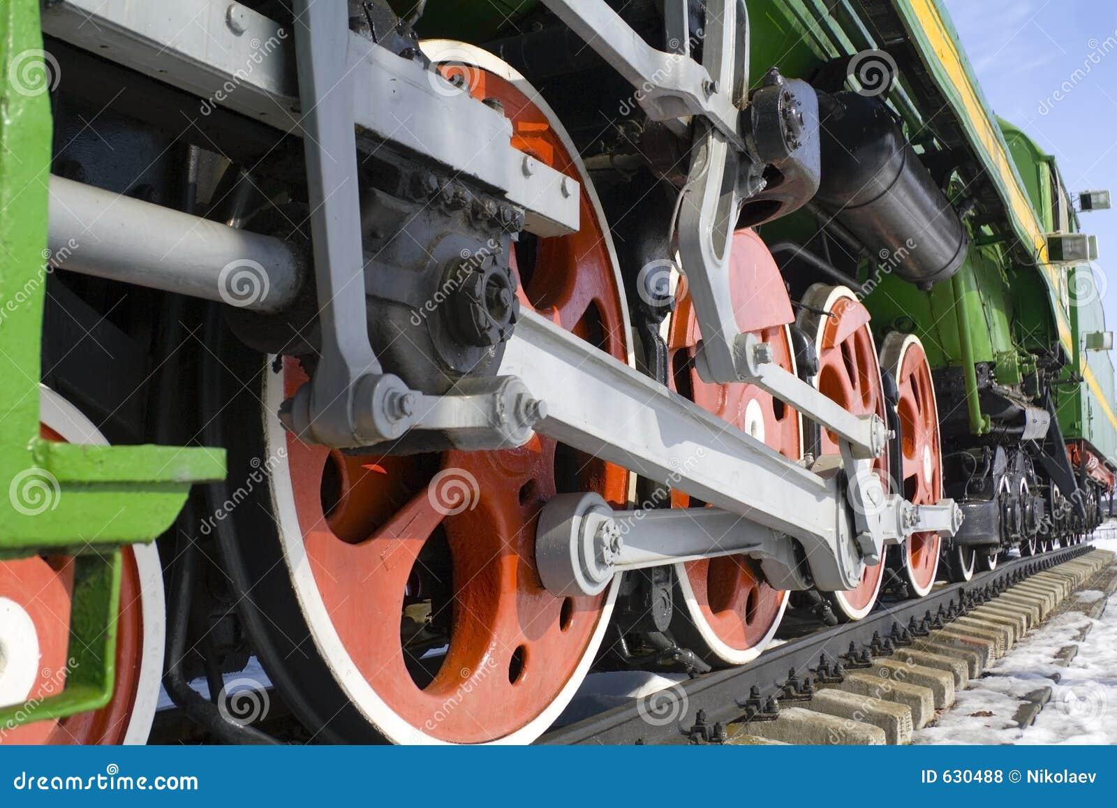 Download Lokomotive старая стоковое фото. изображение насчитывающей двигатель - 630488