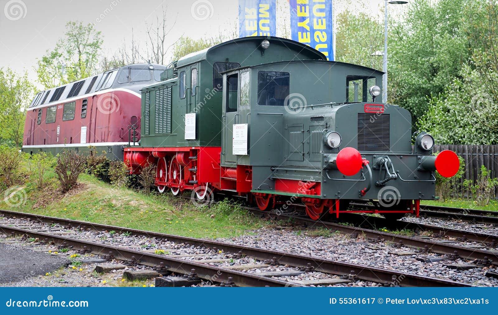 lokomotiven in technischem museum speyer redaktionelles stockfotografie bild von station. Black Bedroom Furniture Sets. Home Design Ideas