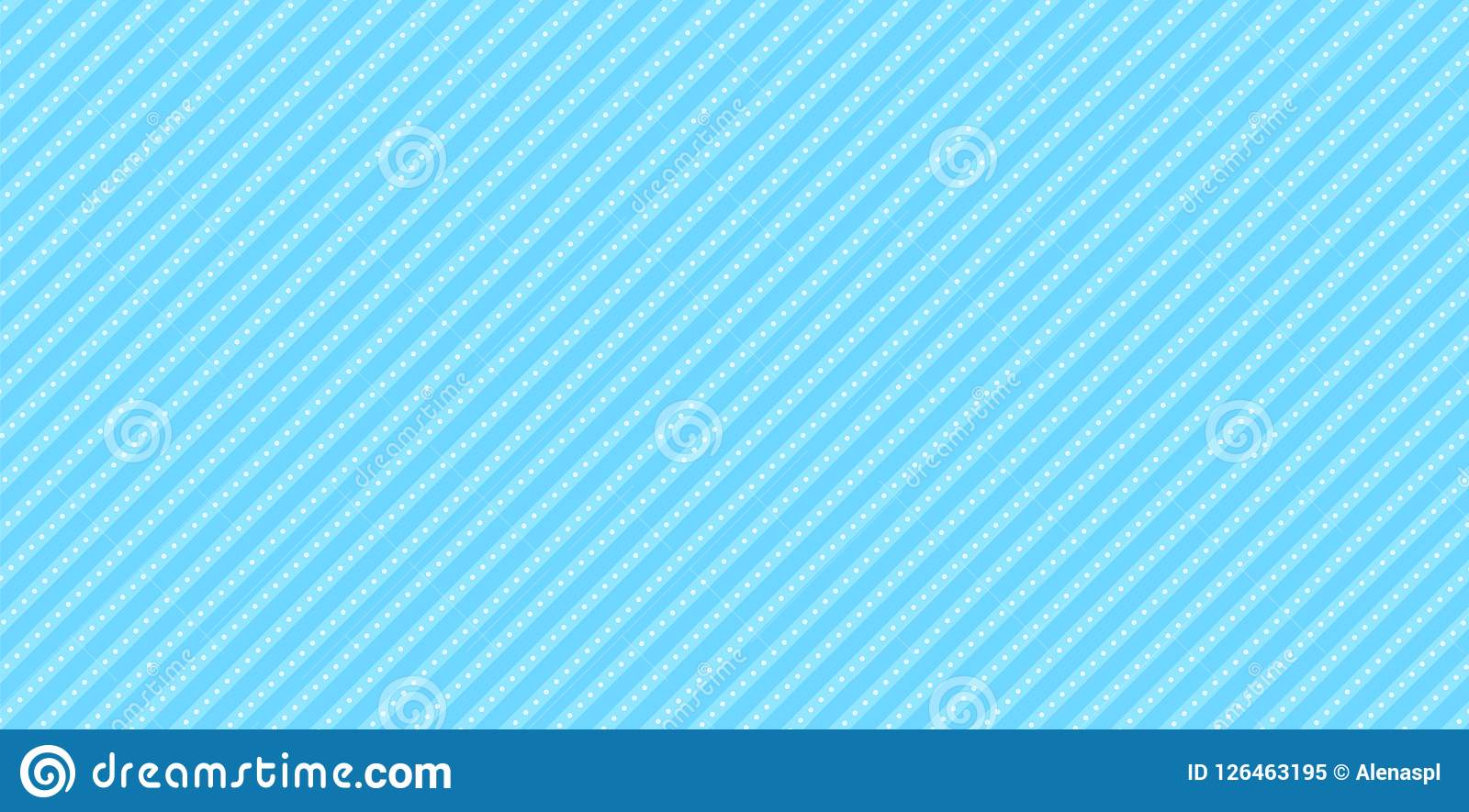 lol doll vector background with stripes and polka dots cute light