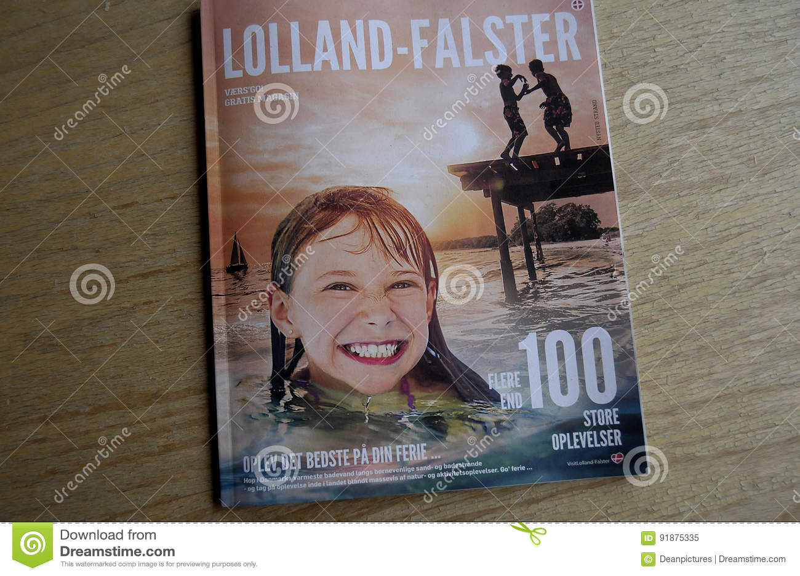 LOLLAND - FALSTER turystów katalog
