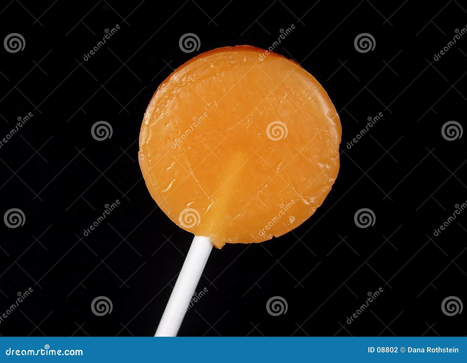 Lollipop πορτοκάλι