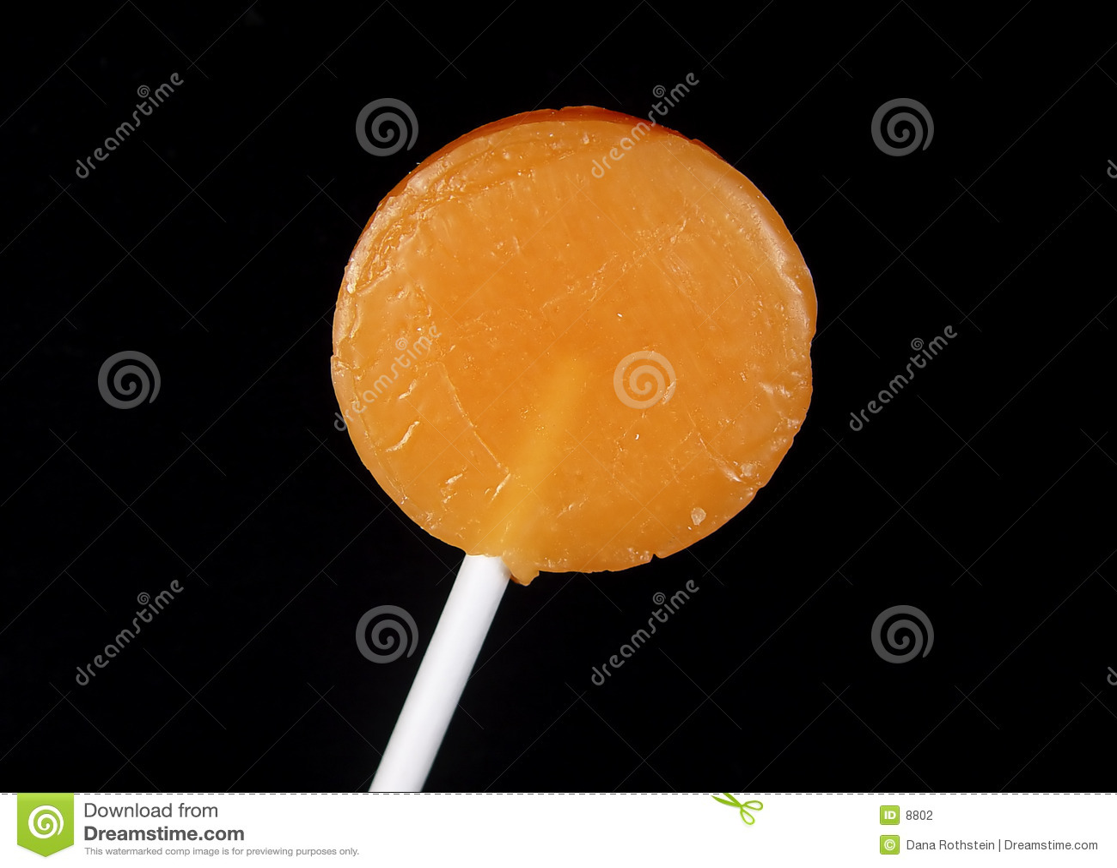 Lollipop alaranjado