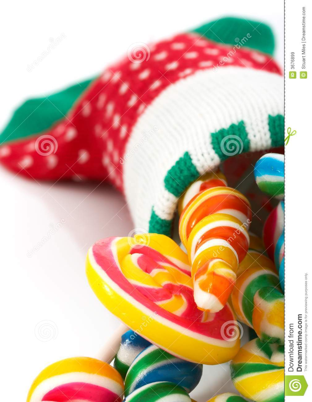 Download Lollipop di natale immagine stock. Immagine di stagione - 3676899