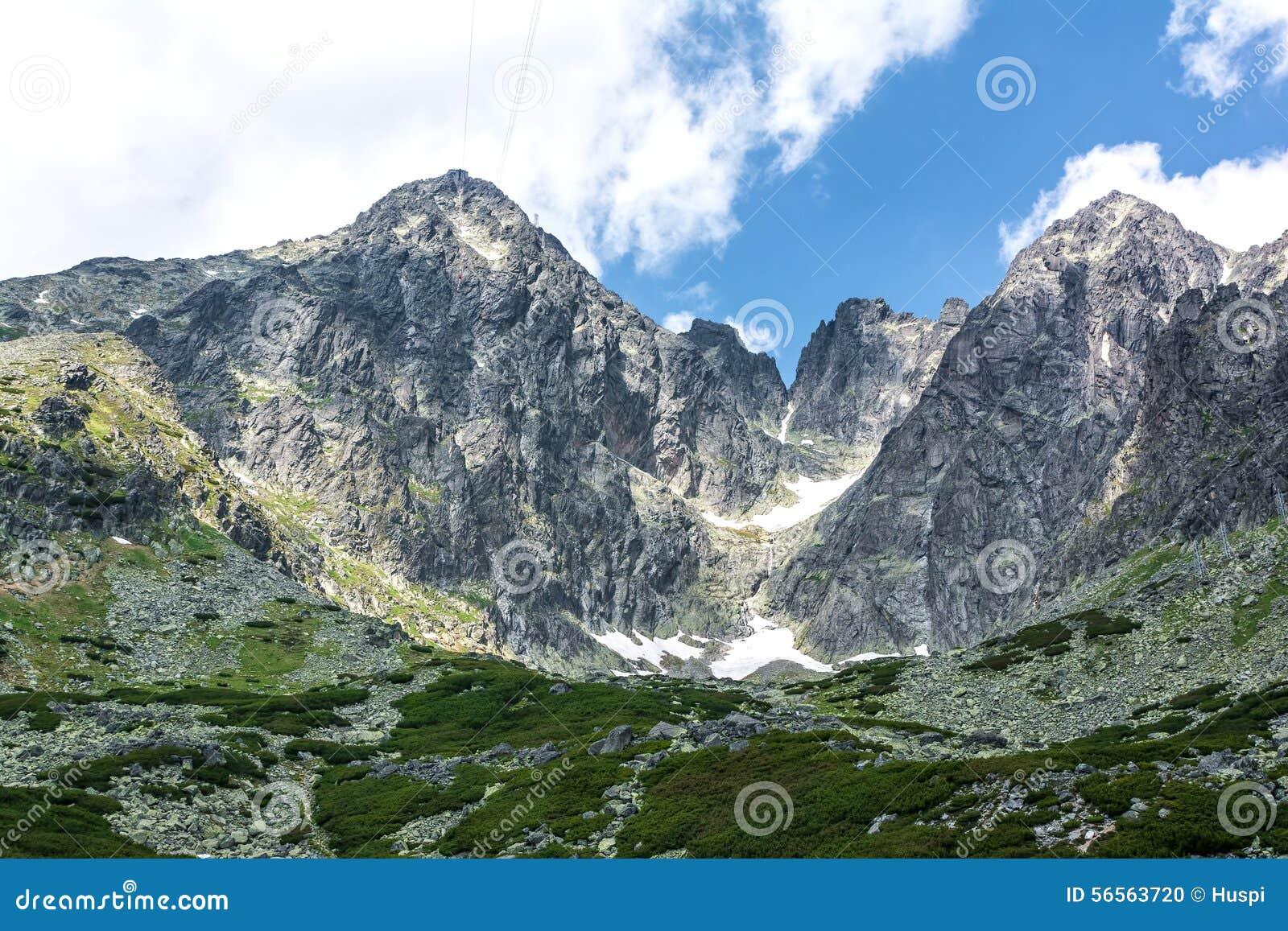 Download Lomnicky Stit, υψηλό Tatras στη Σλοβακία Στοκ Εικόνες - εικόνα από έξω, σλοβακία: 56563720