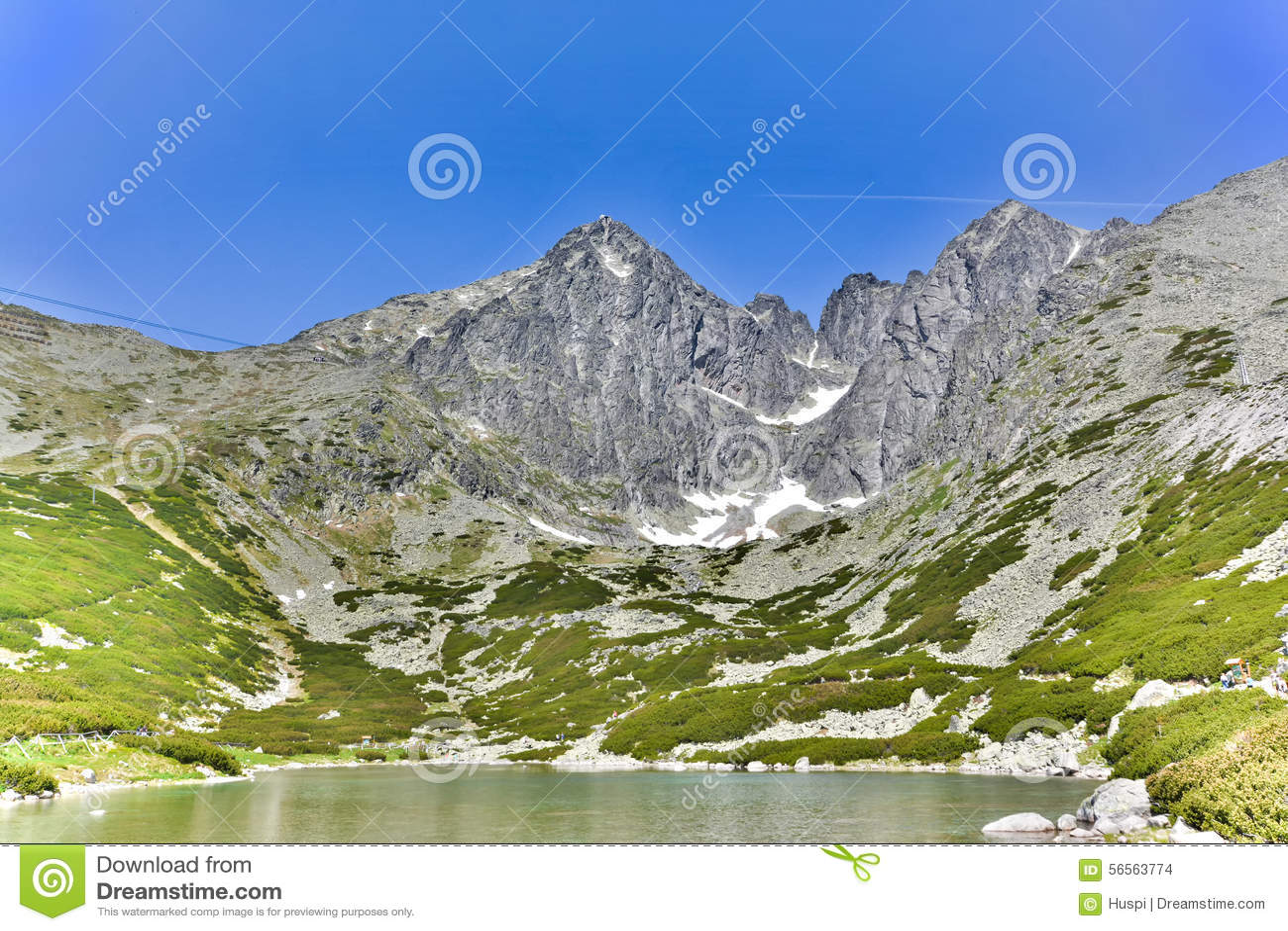 Download Lomnicky Stit, υψηλό Tatras στη Σλοβακία Στοκ Εικόνες - εικόνα από φύση, βουνό: 56563774
