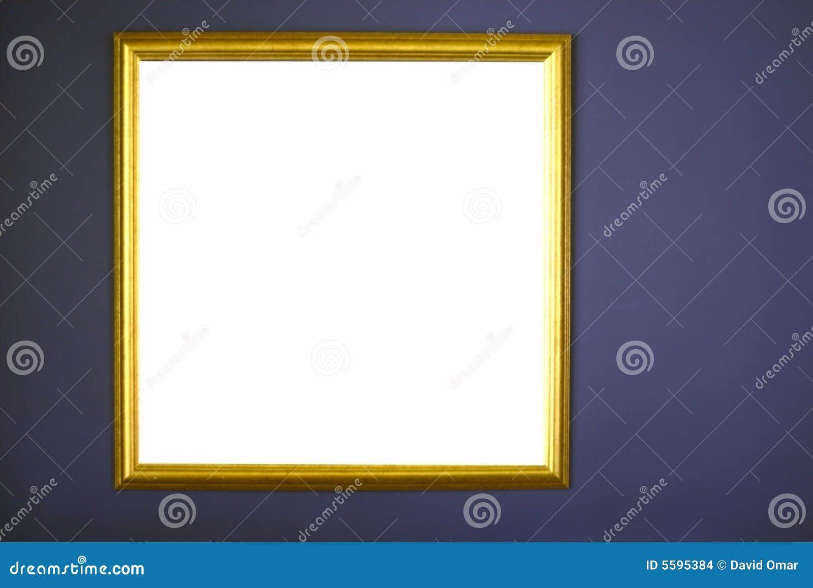 Lona de pintura en blanco