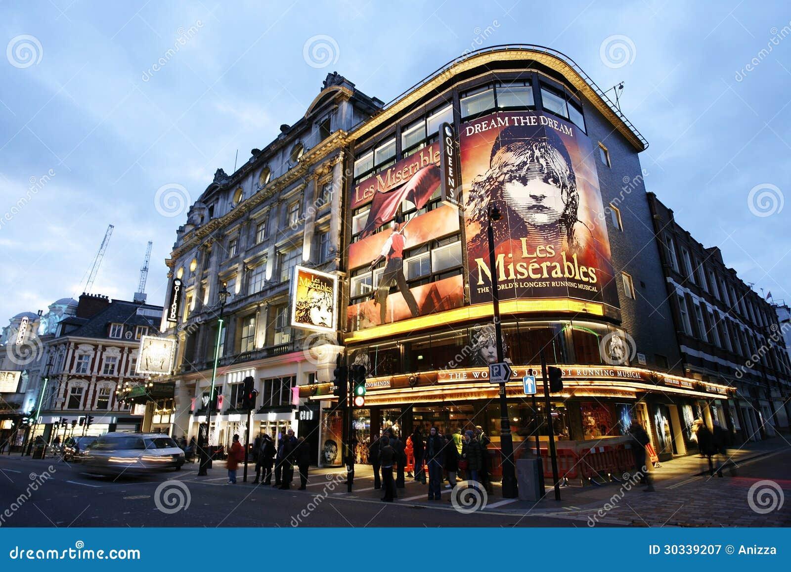 Het Theater van Londen, het Theater van de Koningin