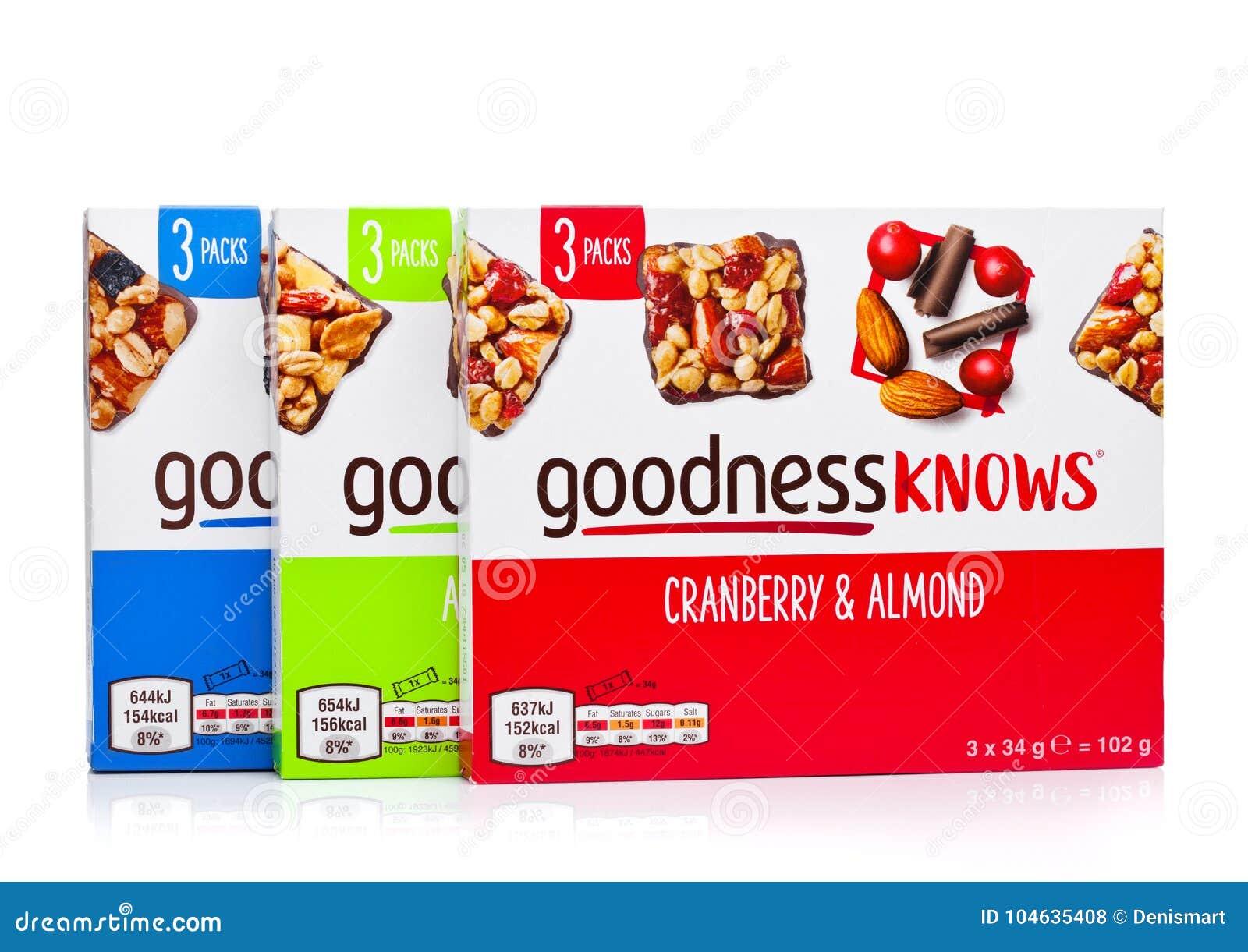 Download LONDEN, Het UK - 24 November, 2017: De Dozengoedheid Kent Snackbars Op Een Wit Redactionele Stock Foto - Afbeelding bestaande uit zout, doos: 104635408
