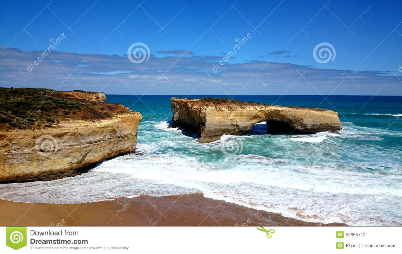 Great Ocean Road - Port C Australia  city pictures gallery : ... natural arch formation in the Port Campbell National Park, Australia