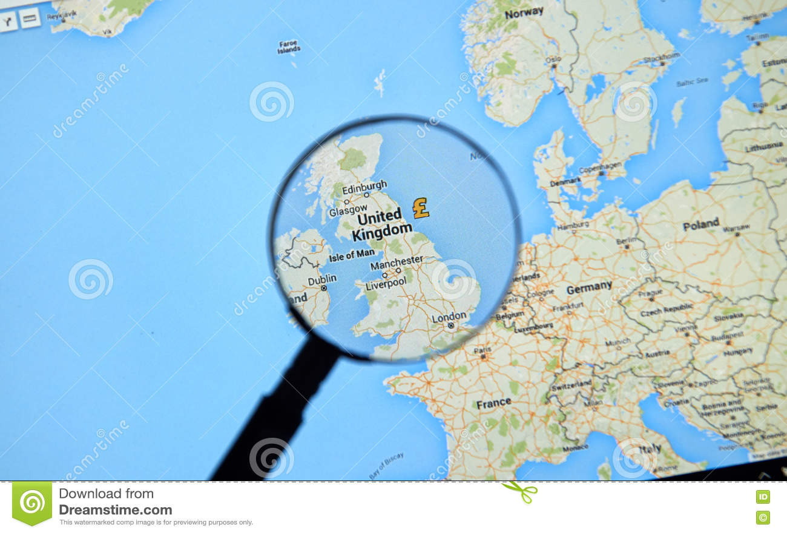 Google Maps Montreal on