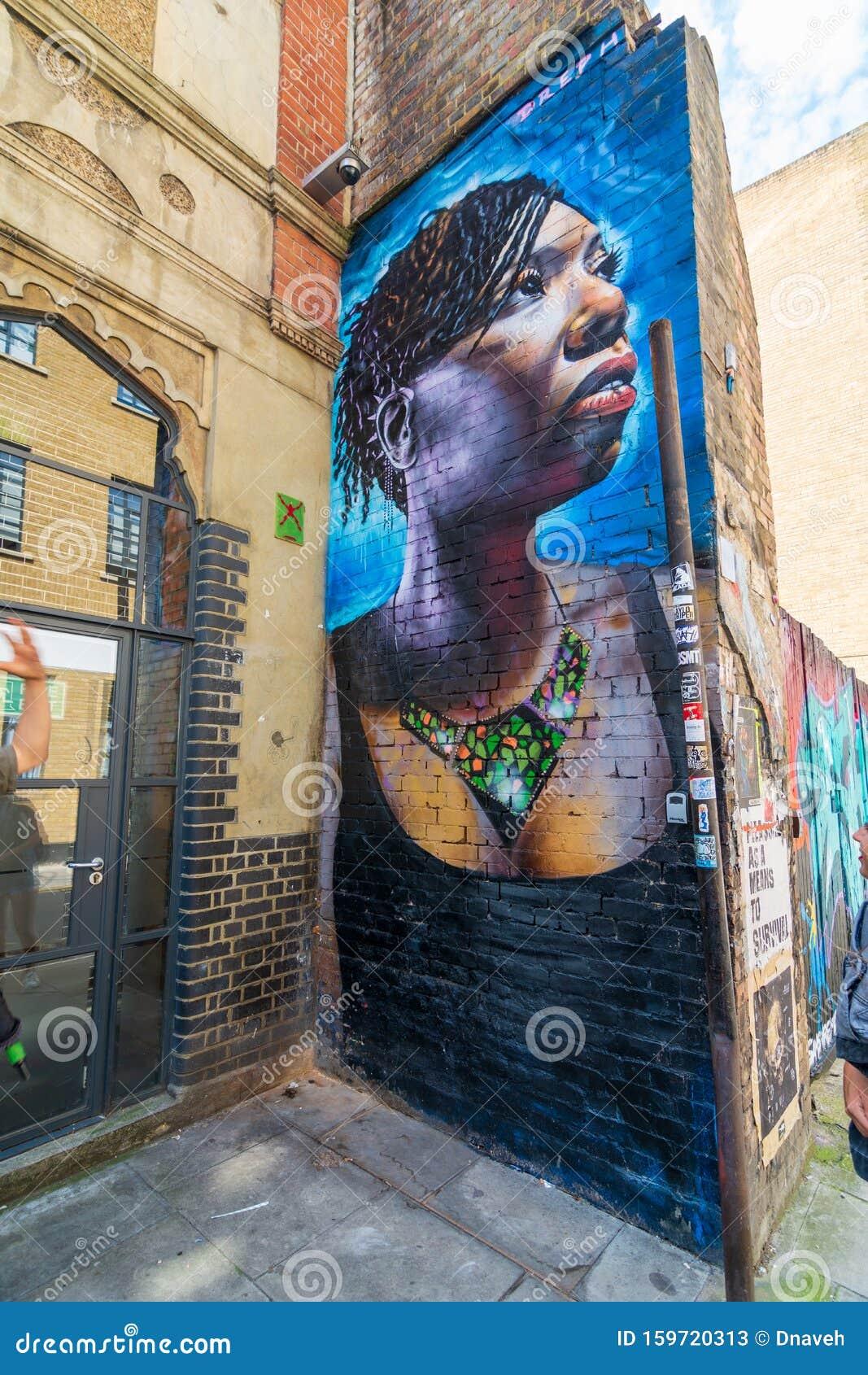 Shoreditch Graffiti: Street Art And Graffiti At The Shoreditch Quarter Of