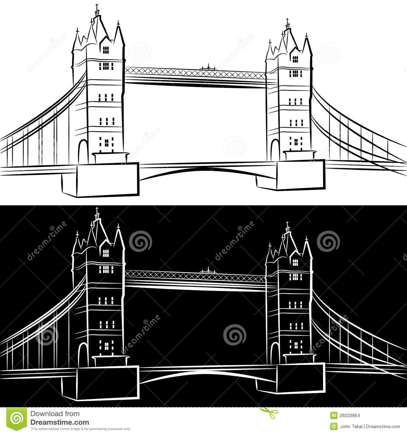 London Bridge Drawing Stock Images - Image: 26033864 Bridge Drawing For Kids