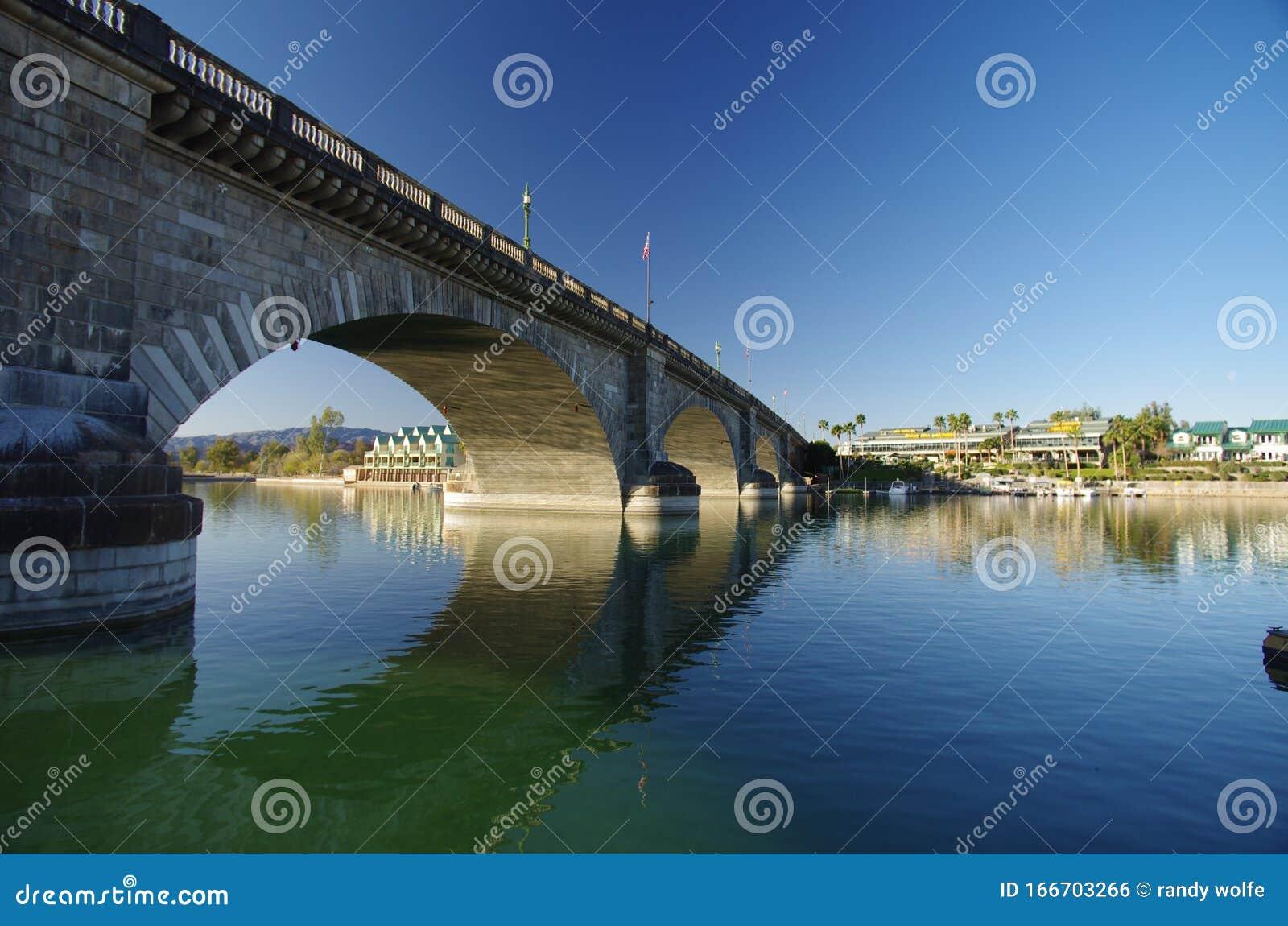 London Bridge Lake Havasu Arizona Usa Stock Photo Image Of Moved There 166703266