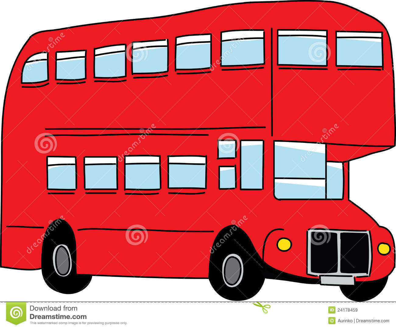 London Bus Royalty Free Stock Images - Image: 24178459