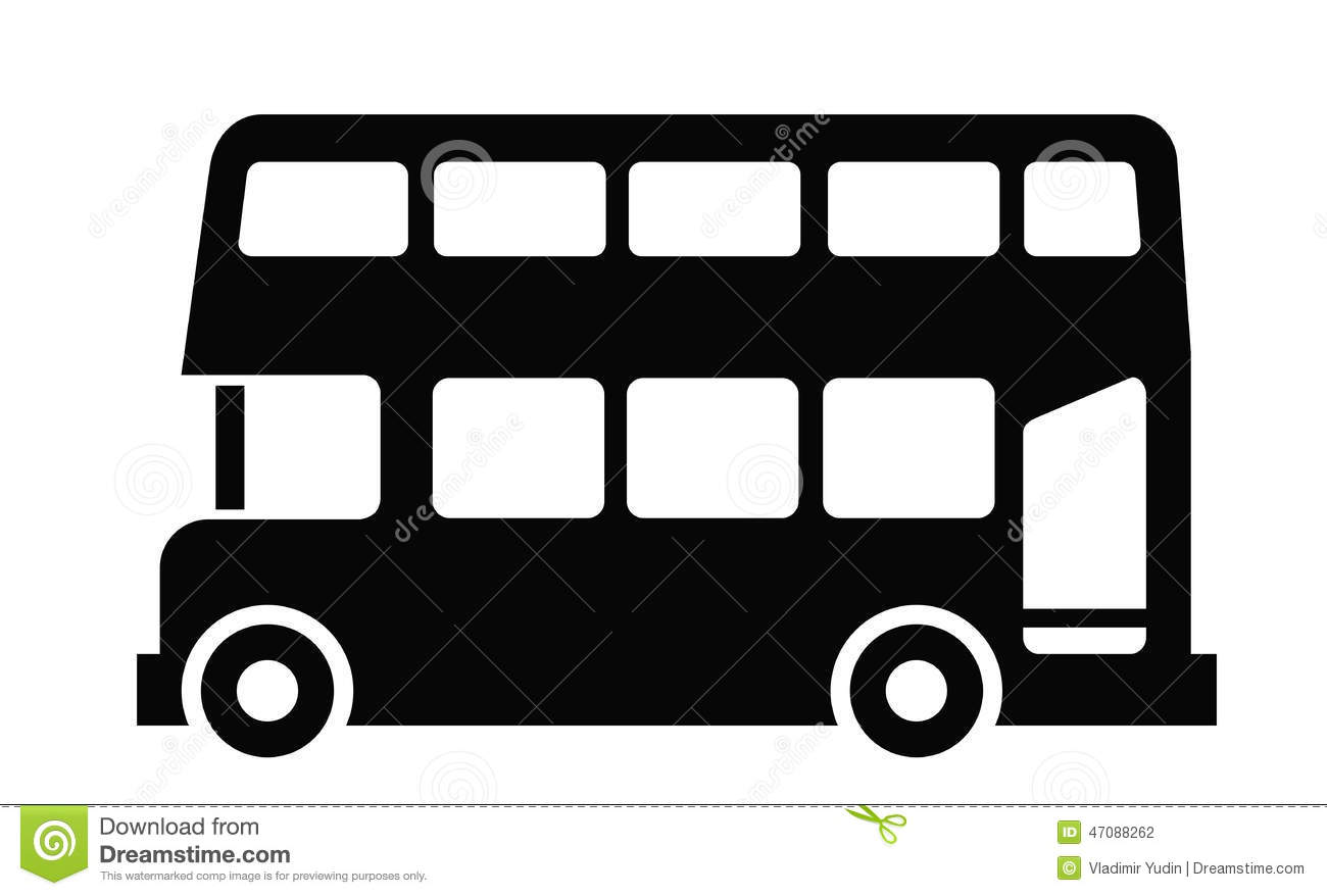 London Bus Stock Vector - Image: 47088262