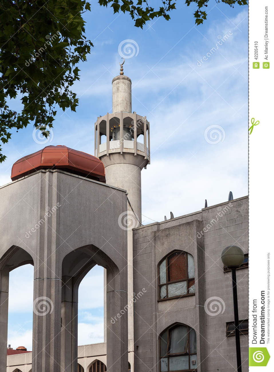 Download London Central Mosque (Regents Park Mosque) Stock Photo - Image of central, pray: 42205410