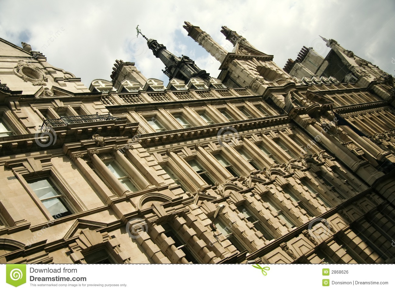 Architecture Buildings In London london city architecture old office buildings uk royalty free