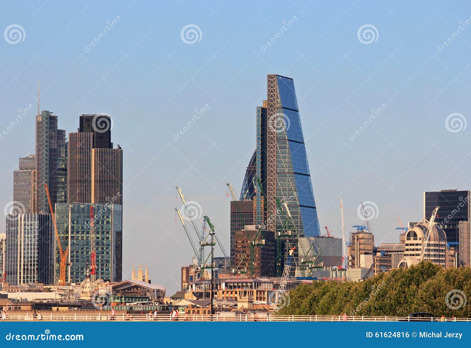 London City Construction Finance Editorial Photo - Image ...