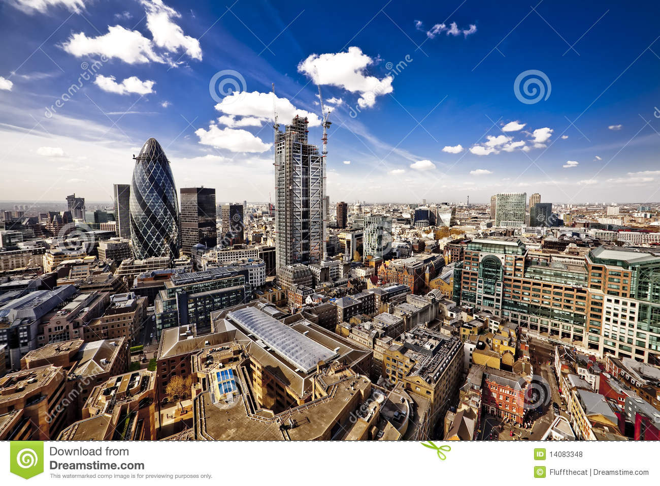 London City Landscape Royalty Free Stock Photos Image