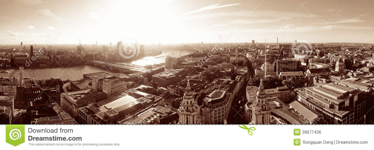 London city rooftop