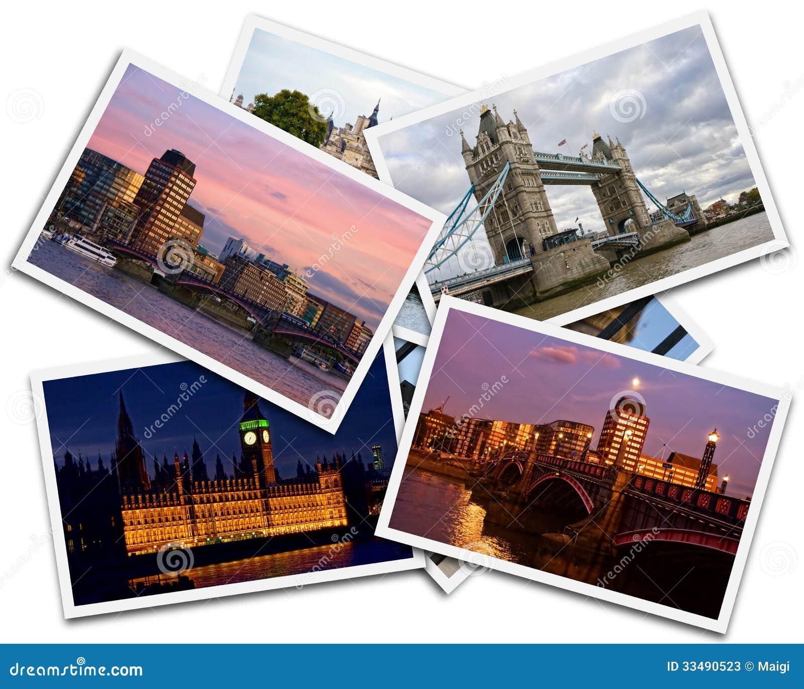 Download London Collage stock image. Image of kingdom, transportation - 33490523